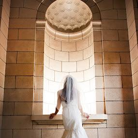 Bride by Melissa Papaj - Wedding Bride ( bridal, wedding, dress, architecture, bride,  )