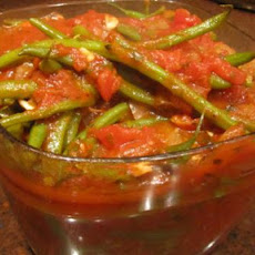 Braised Green Beans/ Fassoulakia Yahni