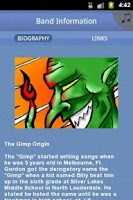 Screenshot of Gimp