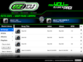 Screenshot of EZ Pro DJ