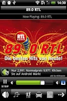 Screenshot of 89.0 RTL