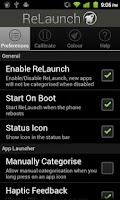 Screenshot of ReLaunch - Launcher