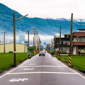 Road by Jay Chen - City,  Street & Park  Street Scenes ( car, street, line, road )