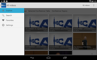 Screenshot of NSCA