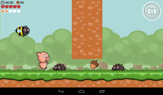 Crisp Bacon: Run Pig Run APK for Bluestacks