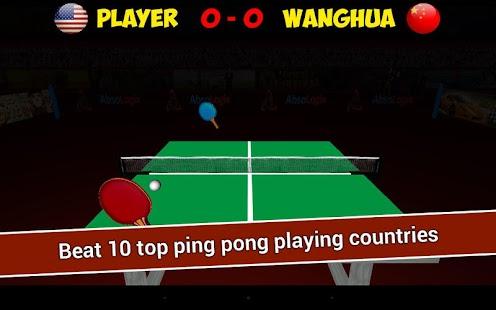 Real Ping Pong - Table Tennis- screenshot thumbnail