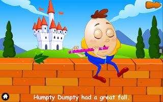 Screenshot of Humpty Dumpty - Kids Rhymes