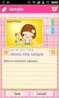 Screenshot of S`Memo Lite(free)