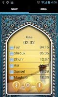 Screenshot of Salat Alarm and Qibla Compass