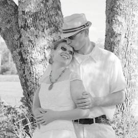 Marital Bliss by Janet Lyle - Wedding Bride & Groom ( wedding, bride, groom )