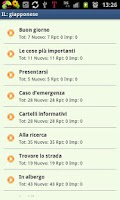 Screenshot of Imparare il giapponese