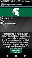 Screenshot of COLLEGE FIGHTSONGS OFFICIAL