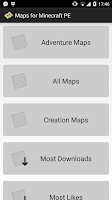 Screenshot of Maps for Minecraft PE