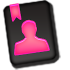 GO CONTACTS - Froyo Style Pink icon