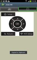 Screenshot of JoyLink