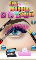 Screenshot of Eyes Makeup Salon - kids games