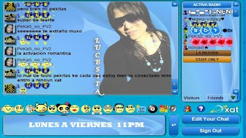 Screenshot of Xat Activa Radio