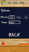 Screenshot of TIC TAC TOE Chalkboard PRO