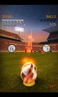 Screenshot of Flick Kick Rugby