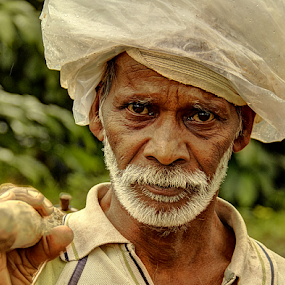 by Shrikrishna Bhat - People Portraits of Men