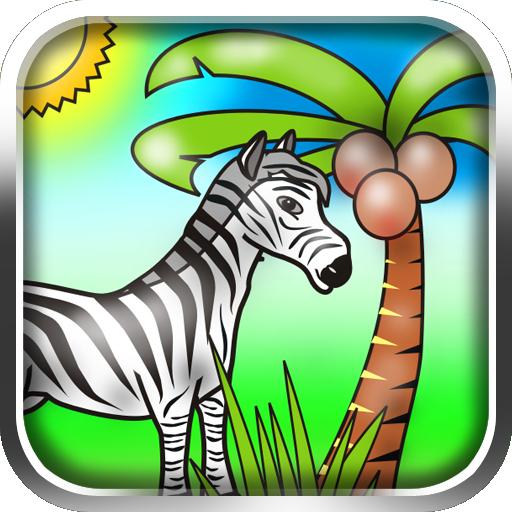 Funny Animals for Kids 教育 LOGO-玩APPs