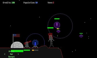 Screenshot of Mars Lander TD (Demo)