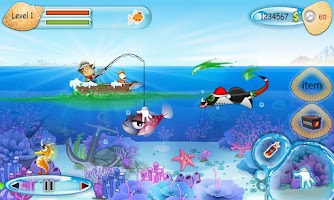 Screenshot of Funny Fishing