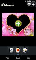 Screenshot of Love PhotoFrames