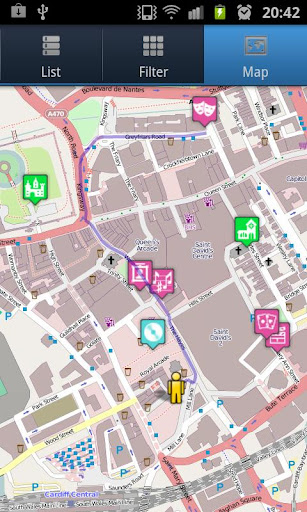 【免費旅遊App】Cardiff Covered-APP點子
