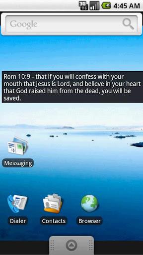Bible Verses Widget