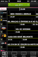 Screenshot of Cabovisão On