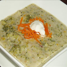 Orange Leek Soup