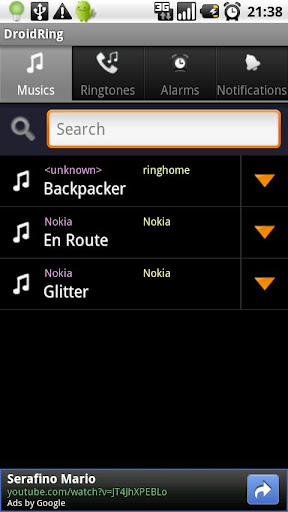 top-ringtone-downloader for android screenshot