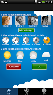 MySunCheck - screenshot