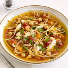 Chickpea Chicken-Noodle Soup