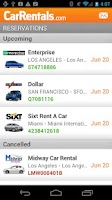Screenshot of CarRentals