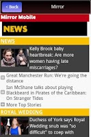 Screenshot of UK News in App- FREE