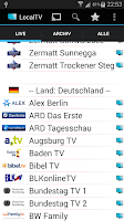Screenshot of LocalTV