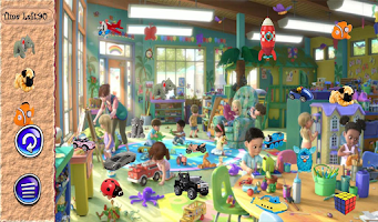 Screenshot of Hidden Objects Toy Room