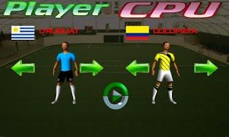 Screenshot of Indoor Soccer World game