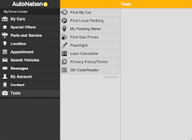 Screenshot of My AutoNation