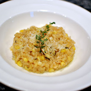 Truffled Sweet Corn Risotto