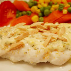 Almond-Topped Fish