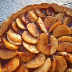 A French Tart. Apple