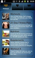 Screenshot of The 21 Day Fitness Plan!