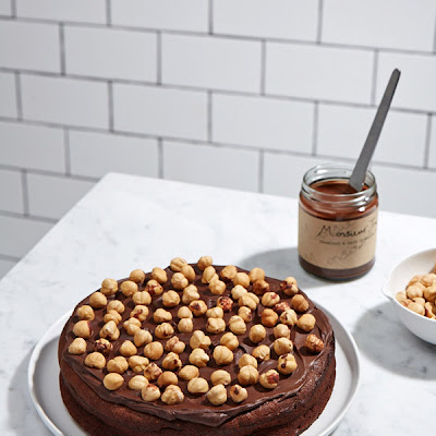 Tasty Tuesday · Dark Chocolate and Hazelnut Cake