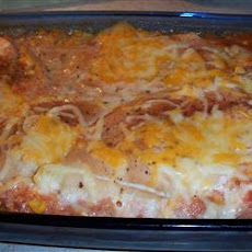 Southwestern Chicken and Rice Casserole
