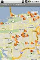 Screenshot of StairwayWalks in San Francisco