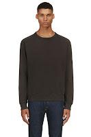 Levis Vintage Clothing Washed Black 1950s Sweatshirt