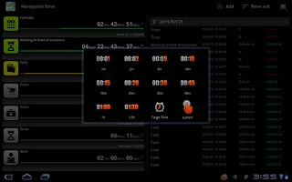 Screenshot of Tablet Timer & Stopwatch